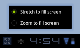 Android 3.2 Zoom to Fill Screen