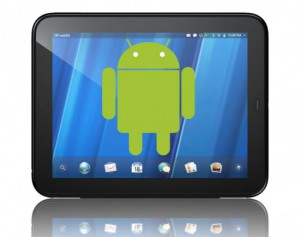 Android on the HP Touchpad