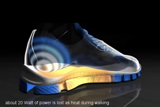 Energy Producing Shoe