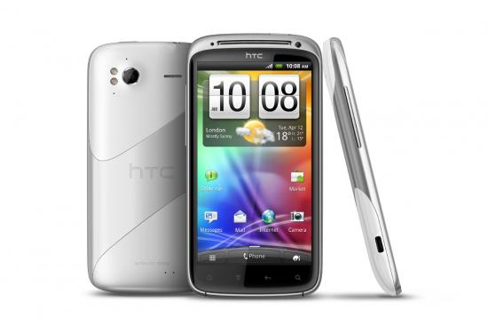 Ice White HTC Sensation 4G
