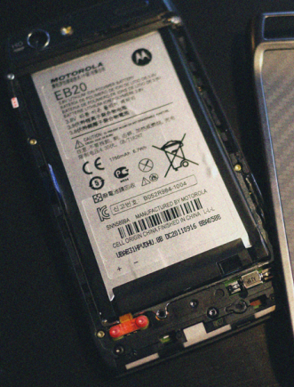 Motorola Droid RAZR (MAXX) Battery Removal