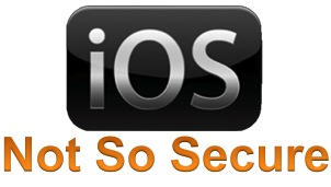 iOS security is an illusion