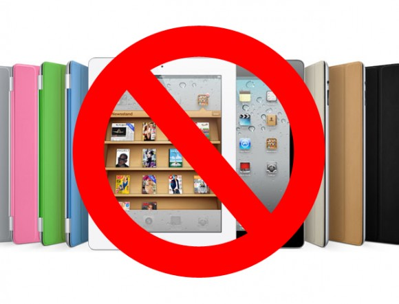 iPad sales Banned in China