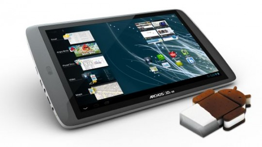 Archos G9 Android 4.0.3 Ice Cream Sandwich bug Fix