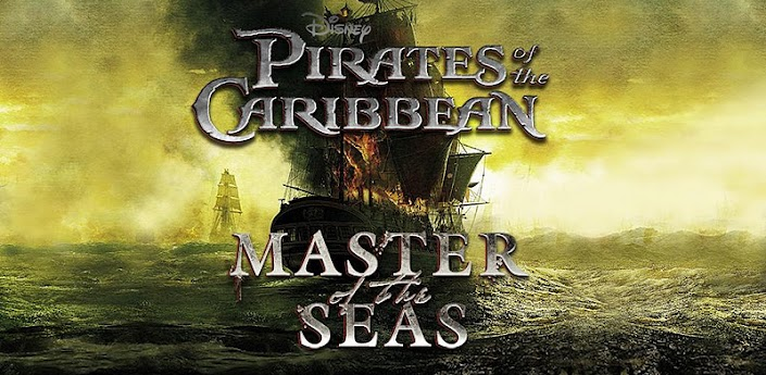 Disney's Pirate's of the Caribbean Master of the Sea's
