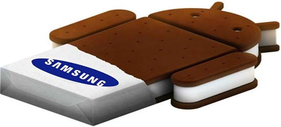 Samsung Devices Getting Ice Cream Sandwich Updates