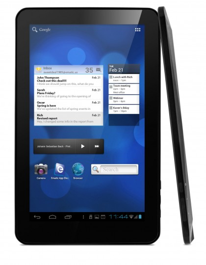 Ematic eGlideXL Pro 2 Android Tablet
