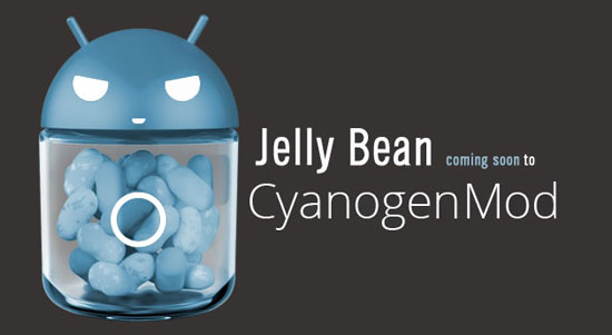 CyanogenMod 10 Android 4.1 Jelly Bean