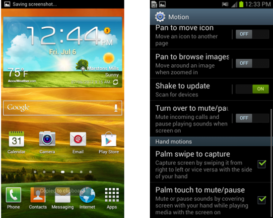 Samsung Galaxy S III Screenshot Tutorial