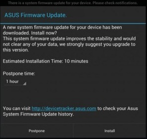 ASUS Transformer Pad Infinity TF700 Update