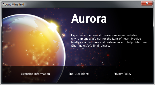 firefox aurora mozilla web-app marketplace on android