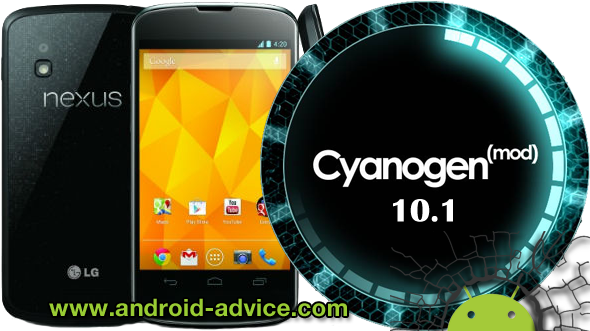 CyanogenMod 10.1 on the Google Nexus 4
