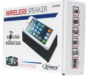 Zenex ZN-SP5986 Wireless Speaker