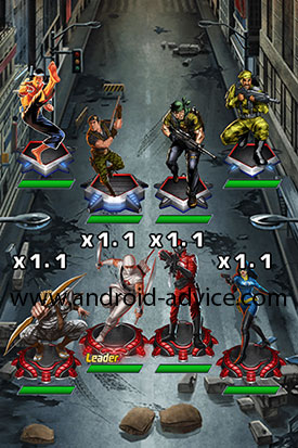 G.I. Joe Battleground Battle